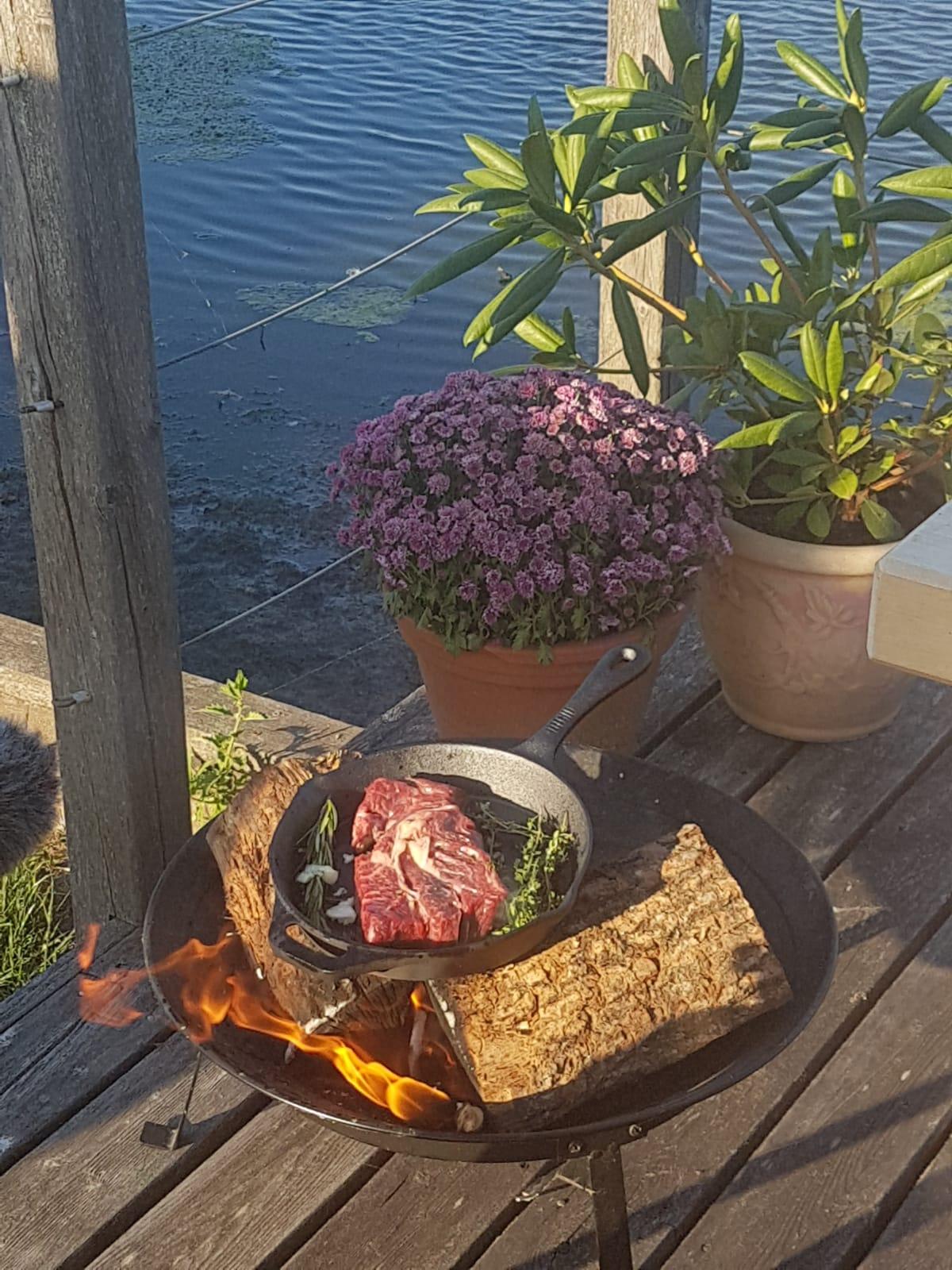 Dutch Oven Steak
